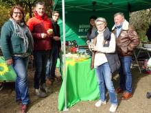 Boulturnier der Grünen auf dem Bonifatiusplatz am 3. Oktober