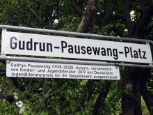 Der frühere Continentalplatz heißt jetzt Gudrun-Pausewang-Platz