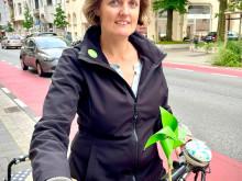 Swantje Michaelsen freut sich über mehr Sicherheit für Radfahrende